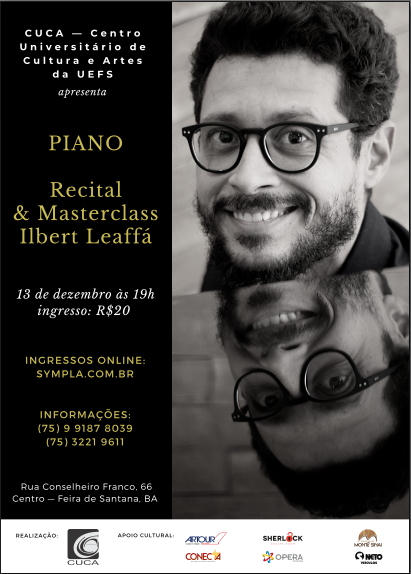 Recital Ilbert Leaffá piano